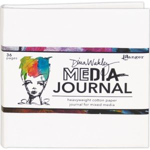 Dina Wakley Mixed Media Journal Wit MDJ61106
