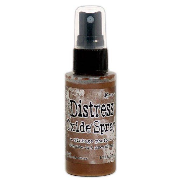 Tim Holtz distress oxide spray vintage photo TSO64817