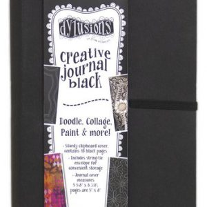 Dylusions creative journal zwart klein DYJ65630
