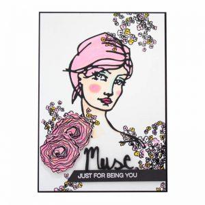 Jane Davenport Clear Stamp Build a Bouquet