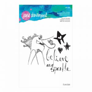 Jane Davenport Clear Stamps Unicorn Sparkle JDS018