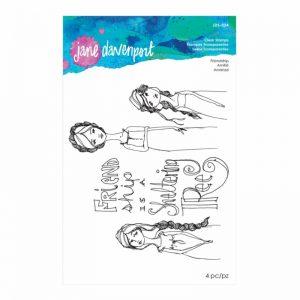 Jane Davenport Clear Stamps Friendship JDS-024