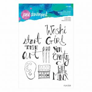 Jane Davenport Clear Stamps Crafty Minx