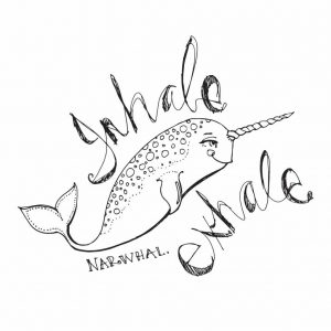 Jane Davenport Clear Stamp Relaxed Narwhal JDS-020