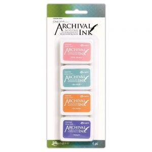 Ranger Wendy Vecchi Archival mini ink pad kit 3 AMDK58953