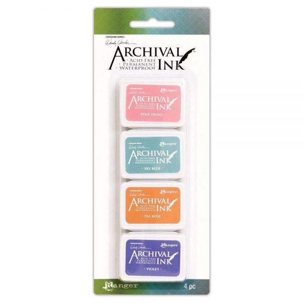 Ranger Wendy Vecchi Archival mini ink pad kit 3 AMDK58953