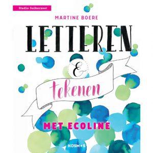 Letteren en Tekenen met Ecoline 9789043920513
