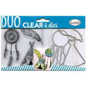 Aladine Duo Clear & Dies Ethnics 04308