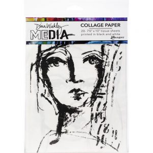 Dina Wakley Collage Paper Faces MDA63827