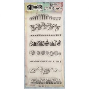 Dylusions Clear Stamps Clearly Borders DYB40873