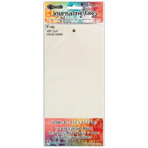 Dylusions mix media paper tags 21,6 x 10,45cm DYA47292