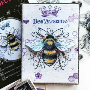 Pink Ink Designs Stempelset Bee-utiful PI001