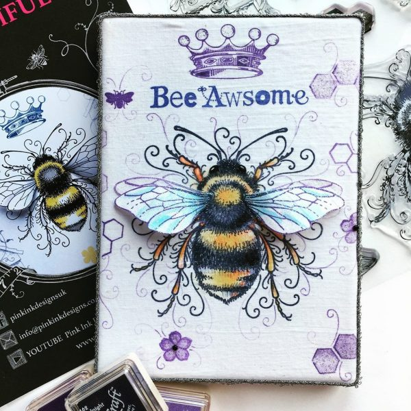 Pink Ink Designs Stempelset Bee-utiful PI001