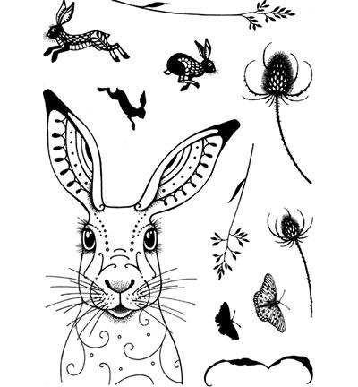 Pink Ink Designs Stempelset Hare PI002