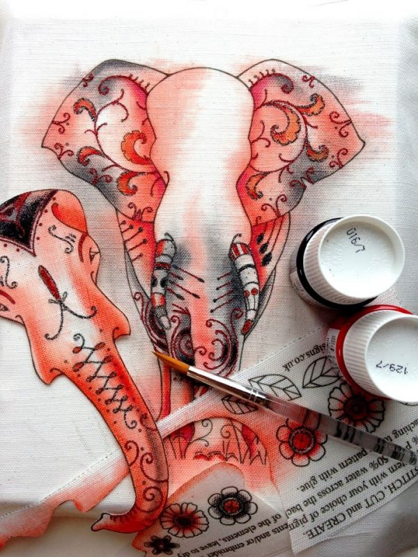 Pink Ink Designs Stempelset Elephant PI004