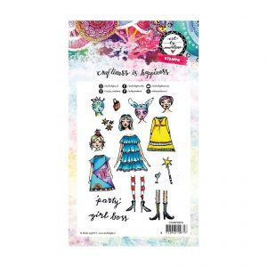 Studio Light Stempelset Mix and Match Girl Boss STAMPBM36