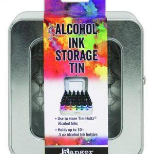Tim Holtz Alcohol Inkt Storage Tin TAC58618