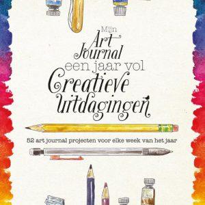Mijn Art Journal, een jaar vol creatieve uitdagingen