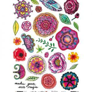 Rice Paper Sheet, Art By Marlene 4.0 RICEBM05