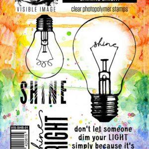 Visible Image Stempelseet Shine Bright VIS-SHB-01