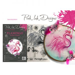 Pink Ink Designs Stempelset Flamingo PI014