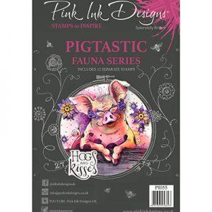 Pink Ink Designs Stempelset Pigtastic PI055