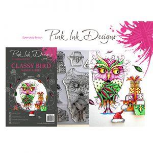 Pink Ink Designs Stempelset Classy Bird PI033
