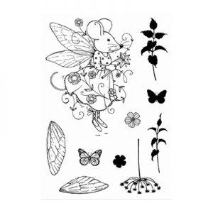 Pink Ink Designs Stempelset Fairy Mouse PI008