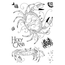 Pink Ink Designs Stempelset Holy Crab PI045