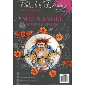 Pink Ink Designs Stempelset Mel's Angel PI040