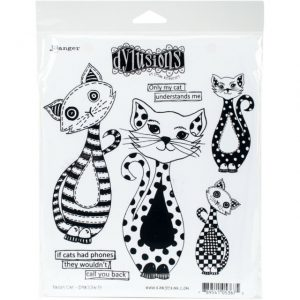 Dylusions Puddy Cat Stempelset DYR53675