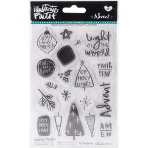 Illustrated Faith Advent Clear Stamp Set 815462025481