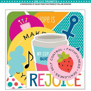 Illustrated Faith encouragement Paper Pieces Die Cuts 1257