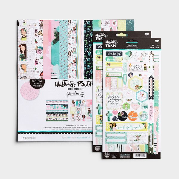 Illustrated Faith Beloved Society Collection Kit (BB2144)