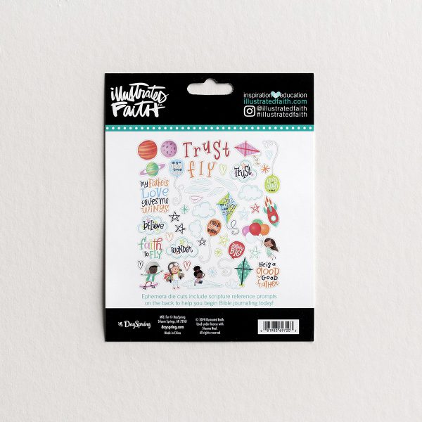 Illustrated Faith Childlike Faith Ephemera BB2121Illustrated Faith Childlike Faith Ephemera BB2121