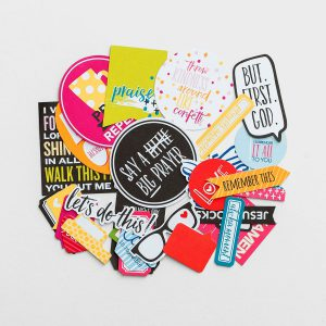 Illustrated Faith Pop Culture Paper Pieces Die Cuts 1261