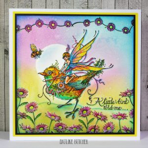Pink Ink Designs Stempelset Bird Sprite PI029