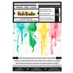 Vicki Boutin Mixed Media Art Paper 300 G/M2